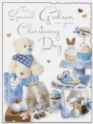 Godson Christening Day Card